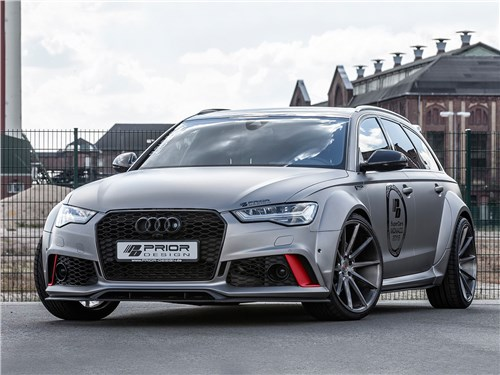 Prior Design | Audi RS6 Avant вид спереди