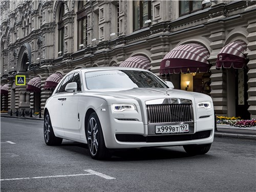 Rolls-Royce Ghost 2015 Антидепрессант