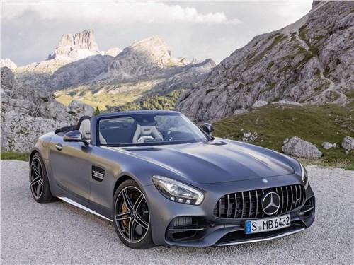 Mercedes-AMG GT C Roadster 2017 Два открытия