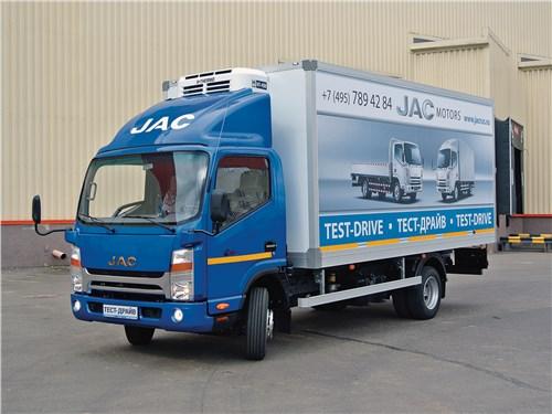 JAC N-75 - jac n-75 2016 на гребне