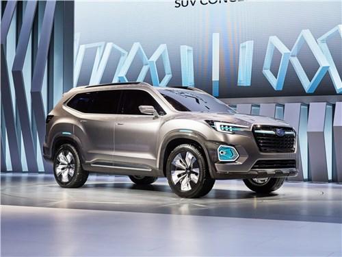 Новый Subaru Viziv-7 SUV - Subaru VIZIV-7 SUV Concept 2016 Глядя в будущее