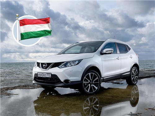 Nissan Qashqai - дороги мира. nissan qashqai 2013 венгерский калейдоскоп