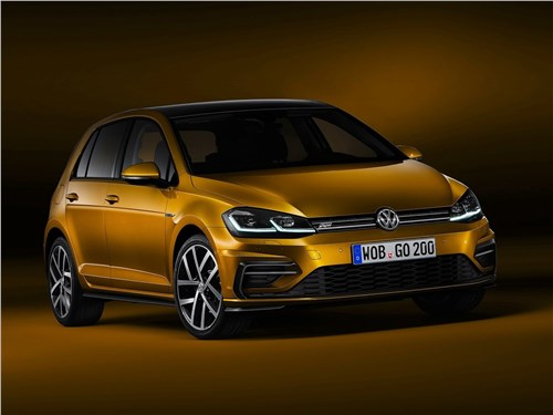Новый Volkswagen Golf - Volkswagen Golf 2017 С обновкой!