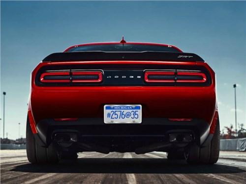 Dodge опубликовал новую порцию информации о «демоническом» Challenger
