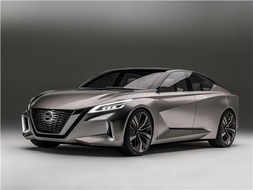 Новый Nissan Vmotion 2.0 - Nissan Vmotion 2.0 Concept 2017 Курс – на автономность