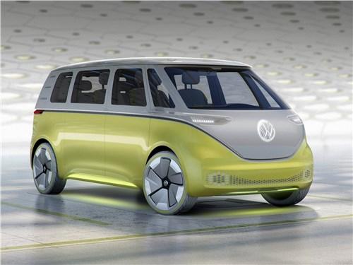 Volkswagen ID Buzz Concept 2017 На новом витке