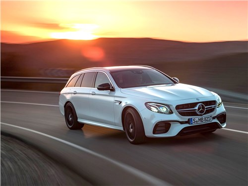 Новый Mercedes-Benz E-Class AMG - Mercedes-Benz E63 S AMG Estate 2018 Семейный… суперкар