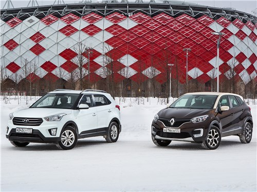Renault Kaptur - hyundai creta 2016 и renault kaptur 2016 женские штучки