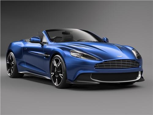 Новый Aston Martin Vanquish Volante - Aston Martin Vanquish S Volante 2017 Быстрый, как ветер