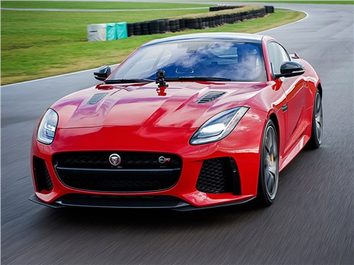 Серп и молот F-Type - Jaguar F-Type 2018 вид спереди