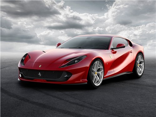 Новый Ferrari 812 Superfast - Ferrari 812 Superfast 2018 Сверхбыстрый