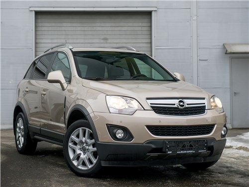 Opel Antara - opel antara 2011 дань традициям