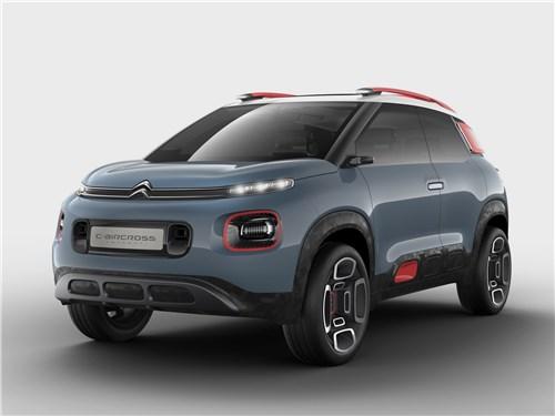 Предпросмотр citroen c-aircross concept 2017 экспрессионист