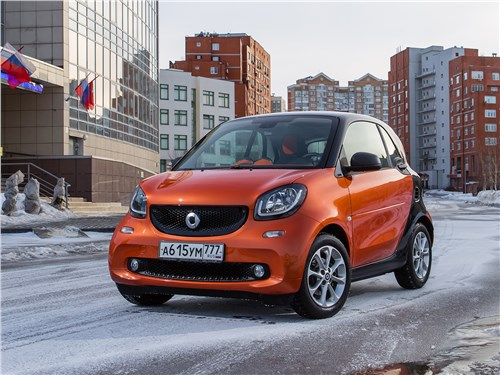 Smart Fortwo Coupe - smart fortwo 2015 антиробот