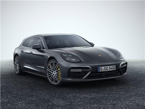 Новый Porsche Panamera Sport Turismo - Porsche Panamera Sport Turismo 2018 А теперь – универсал!