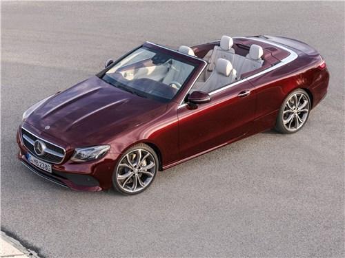 Новый Mercedes-Benz E-Class - Mercedes-Benz E-Class Cabriolet 2018 Полна коробочка