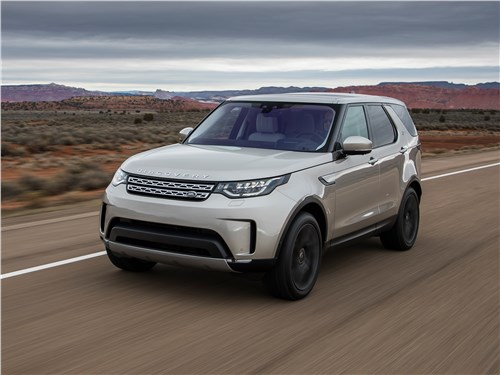 Land Rover Discovery - land rover discovery 2017 уроки мастерства