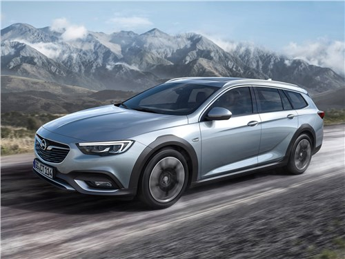 Opel Insignia Country Tourer 2018 Во всеоружии