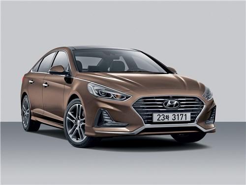 Новый Hyundai Sonata - Hyundai Sonata 2018 Уйти, чтобы вернуться