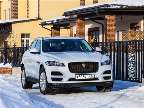 Jaguar F-Pace - jaguar f-pace 2016 тест от евы: фаворит