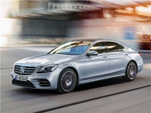 Mercedes-Benz S-Class 2018 Искусственный интеллект