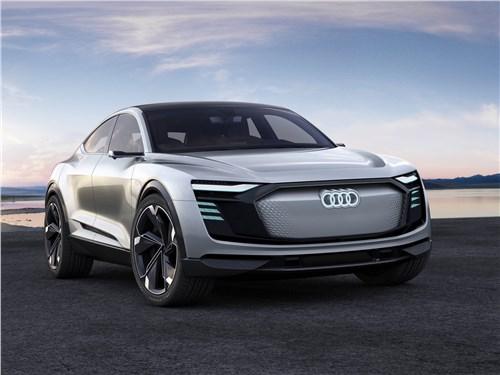 Audi e-tron Sportback Concept 2017 Фейерверк