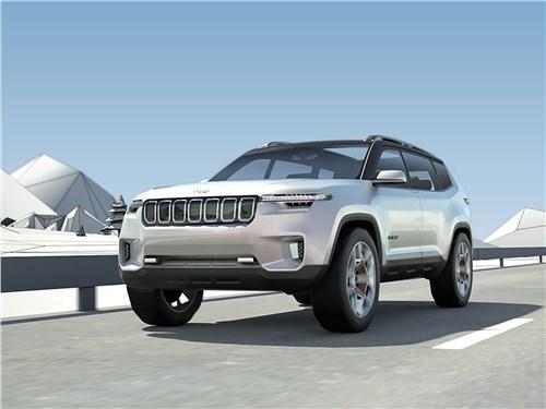 Предпросмотр jeep yuntu concept 2017 большие ожидания
