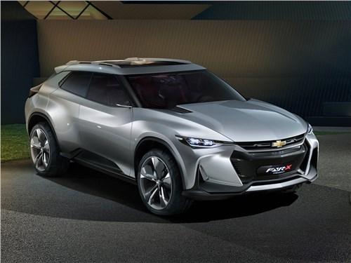 Новый Chevrolet FNR-X - Chevrolet FNR-X Concept 2017 Штурмовик