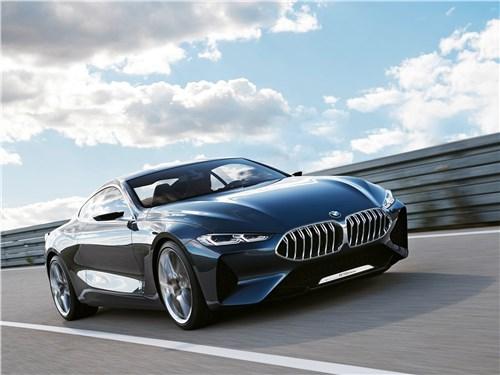 Новый BMW 8 series - BMW 8-Series Concept 2017 С возвращением!