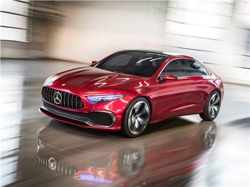 Предпросмотр mercedes-benz a sedan concept 2017 молодая гвардия