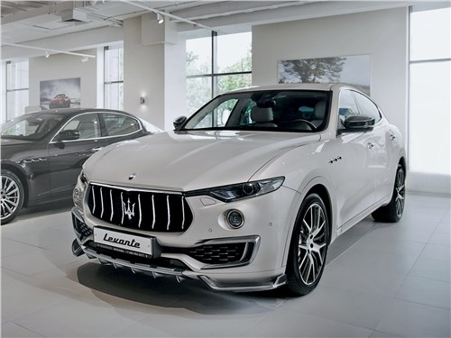 LARTE Design | Maserati Levante белая