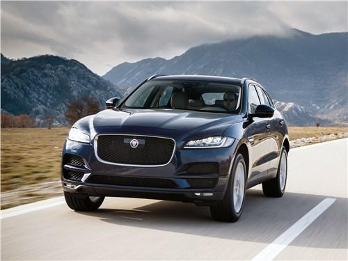 Jaguar F-Pace 2018 С новым… годом!