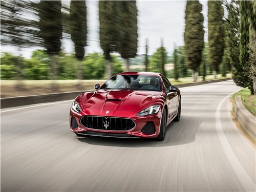 Maserati GranTurismo 2018 Процедура омоложения
