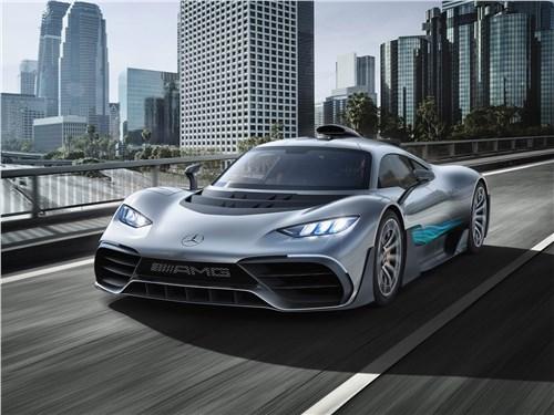 Новый Mercedes-Benz AMG Project ONE - Mercedes-Benz AMG Project ONE Concept 2017 С трека – на шоссе