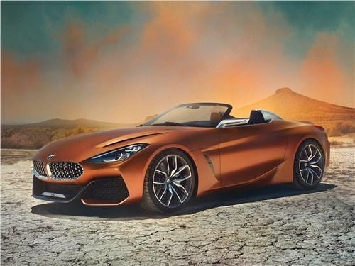Новый BMW Z4 - BMW Z4 Concept 2017 Акула вернулась