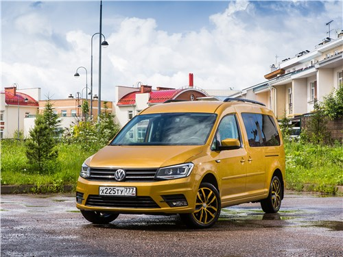 Volkswagen Caddy - volkswagen caddy family maxi 2016 друг семьи