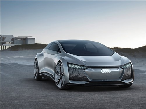Audi Aicon concept 2017 Прощай, руль