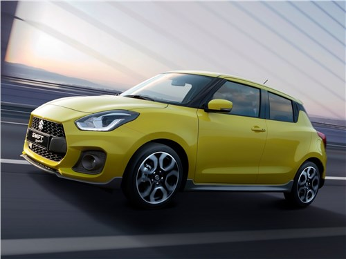Новый Suzuki Swift - Suzuki Swift Sport 2018 Лимонад