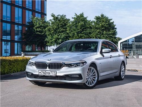 BMW 5 series - bmw 520d xdrive 2017 красная угроза