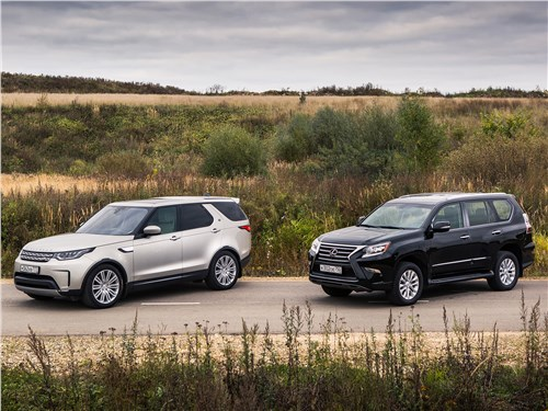 Lexus GX - сравнительный тест land rover discovery 2017 и lexus gx: последние герои