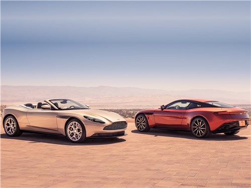 Новый Aston Martin DB11 - Aston Martin DB11 Volante 2019 Навстречу ветру