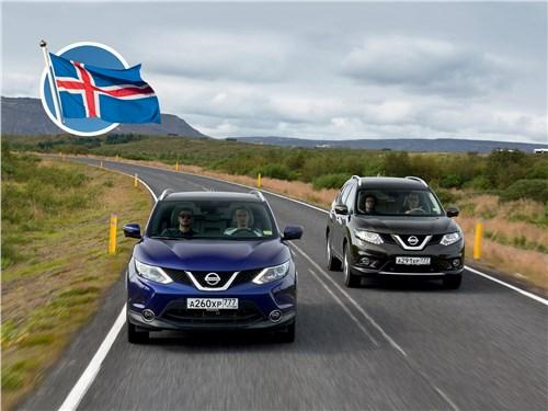 Nissan X-Trail - nissan qashqai и x-trail. сквозь горизонт