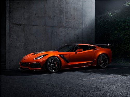 Предпросмотр chevrolet corvette zr1 2019 богатый скороход
