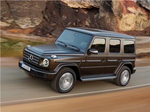 Mercedes-Benz G-Class 2019 Пропуск на асфальт