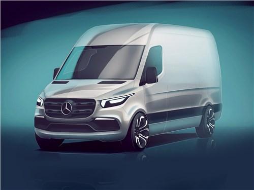 Mercedes-Benz Sprinter 2018 За семью печатями