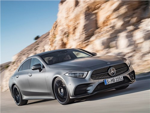 Новый Mercedes-Benz CLS-Class - Mercedes-Benz CLS 2019 Разум и чувства