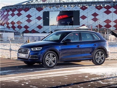 Audi Q5 - audi q5 2017 второго поколения делает ставку на комфорт