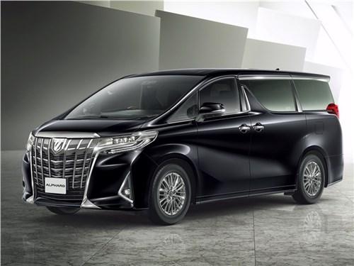 Новость про Toyota - Toyota Alphard