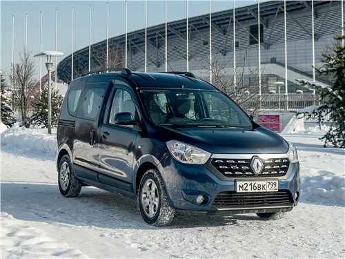 Renault Dokker - renault dokker 2018 взял лучшее от минивэнов и развозных фургонов