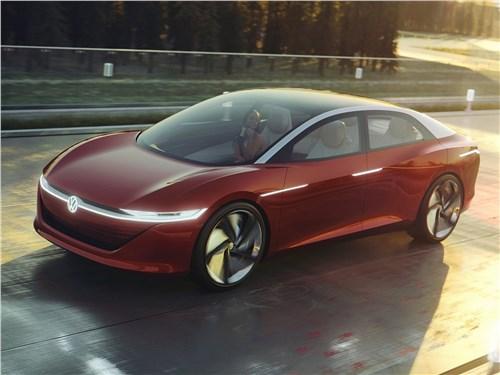 Volkswagen ID Vizzion Concept 2018 До свидания, водитель!